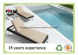 Rattan chaise lounges de la piscina al aire libre Hamacas