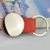 Ledernes Metall Keychain kundenspezifisch anfertigen