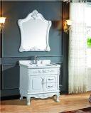 PVC Floor-Mounted decente de estilo europeo, gabinete de vanidades de baño