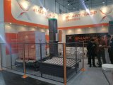 완전히 자동적인 수평한 온라인 깔판 감싸는 기계