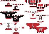 Liga de Hóquei de Ontário personalizados Ottawa 67s 1998-2012 Home/Road Hóquei no Gelo Jersey