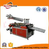 Long sac à une seule couche d'ordures de sac de main de gant faisant la machine