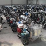 Máquina de ordenha móvel com baldes e Motores Duplos