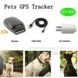 Bateria de grande capacidade Pet Rastreador GPS com EV impermeável-200