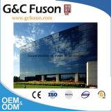 Gordijngevel van het Venster van het Glas van het aluminium de Frame Aangemaakte Voor de Bouw