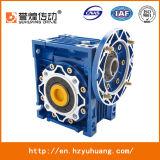 Het Ontwerp RV25-RV150 van China Manuefactory Duitsland van de Versnellingsbak van de Worm van het Aluminium rv van de Versnellingsbak van de Rechte hoek Al Grootte
