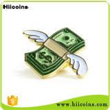 Подгонянные значки оптовой продажи значка Pin отворотом и ходкий значок Pin эмали