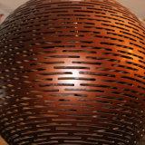Lampada Pendant della vetroresina del caffè di stile cinese per il progetto dell'hotel