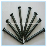 Concrete Black Steel Masonry Nail with Smooth Shank
