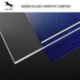 Baixo ferro da alta qualidade 3.2-4mm SPF com vidro solar Photovoltaic
