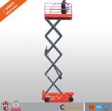 Certificado Ce eléctrica elevadora de tijera de China de fábrica