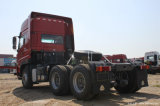 維持の中国容易なシャントウDeca Sitrak C7hの大型トラック4X2 400馬力トラクター(危険な輸送)