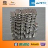 N35sh Sterk Krachtig Neodymium Segment Magneten
