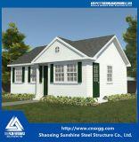 Chalet prefabricado de la casa hecho de la estructura de acero con ISO9001