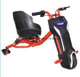 Scooter électrique de dérive fou de batterie au lithium avec l'amortissement