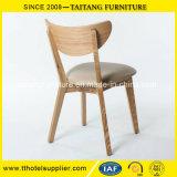 Cadeira da madeira de carvalho da alta qualidade com assento do plutônio