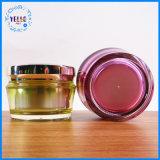 2017 vasi di plastica cosmetici acrilici di lusso a cupola