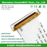 Longueur 125 cm de Pin du câble 30 de Lvds FFC de câble équipé de mouvement