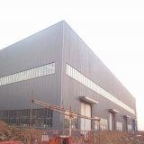 China hizo Q345 Prefabricados de estructura de acero de la luz de almacén moderno bastidor