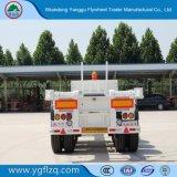 Zelf-dumpt Koolstofstaal 2/3 Aanhangwagen van de Container van het Skelet van Assen voor Vervoer van de Container 20/40FT