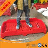 La plastica poco costosa accatastabile del mobilio scolastico scherza la base della culla