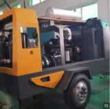 El tornillo portátil Diesel compresor de aire (EYC-240A)