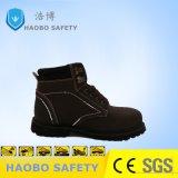 Кожаный низкая разрезать стальные ноги обувь для сооружения