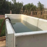 El tanque de agua de la fibra de vidrio para el almacenaje del hotel