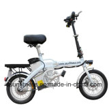 2018 la bicyclette se pliante du l'E-Vélo 14inch E de mini vélo électrique avec retirent la batterie