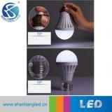 Bulbo solar recargable del bajo costo LED de la alta calidad con el clip