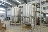 Completar o enchimento de água mineral potável engarrafada engarrafamento a linha de produção de Embalagem