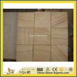 Giallo smerigliatrice/bianco naturale/nero/rosso/verde/blu/beige/Grey/Brown/arenaria di legno multicolore per costruzione/la pavimentazione/pavimentazione/parete/controsoffitto/scala/mattonelle