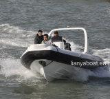 Liya 24,5FT Rhib Militar Barco com motor para venda