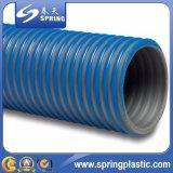 Le PVC a renforcé le boyau de l'eau, boyau d'aspiration de PVC, boyau de débit de PVC