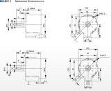 Steppermotor des Zweiphasen-NEMA-12VDC Instrument-Block-Tischplattendrucker-3D