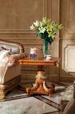0062-1 이탈리아 단단한 나무 호화스러운 고대 커피용 탁자