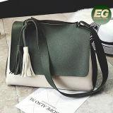 Il colore caldo Crossbody di contrasto di tendenza insacca il sacchetto di cuoio del messaggio della borsa dell'unità di elaborazione per le signore a Guangzhou Sy8533