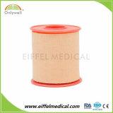 100%年の綿テープ皮膚色の白い付着力の酸化亜鉛プラスターテープ