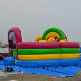 Outdoor Combo insufláveis, Encaracolados obstáculo inflável Parque Infantil (B3019)