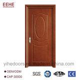 シンプルな設計MDF木の内部の木製のVennerの平らなドア