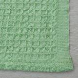 Coperta delicatamente classica 100% della cialda del tessuto del cotone