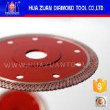 Viruta libre lámina de corte de cerámica de 5 pulgadas