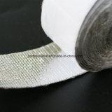 Bande en aluminium de fibre de verre de Cotaed de température élevée avec le support adhésif