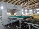 Maquinaria da estaca da esponja do contorno do CNC de Hengkun com faca do ciclo