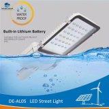 Delight DeAl05 Built-inのリチウム電池屋外LEDの太陽街灯