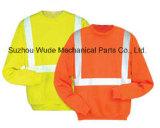 Uja016100% poliéster Anti-Pilling velo polar cubra pano reflexivo Parka Casaco Worksuit Raincoat
