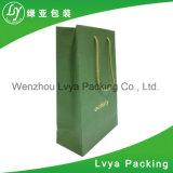 Menor preço impresso personalizado reciclado de saco de papel, papel Sacola de Compras