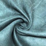 Tessuto della pelle scamosciata per l'indumento del pattino di Uphostery della mobilia del sofà