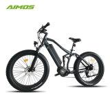Bicicleta eléctrica ultra del neumático gordo lleno máximo de la suspensión 1000W de Bafang