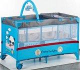 Norma Europeia Portable cama de bebé com canópia e Rede mosquiteira